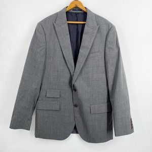 J. CREW Ludlow Gray Glen Plaid Jacket 40R